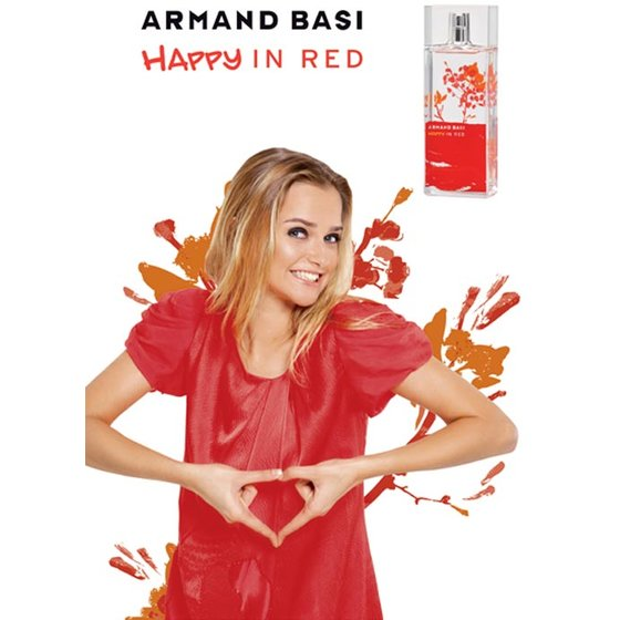 Armand Basi Happy in Red Женский Туалетная вода 50ml
